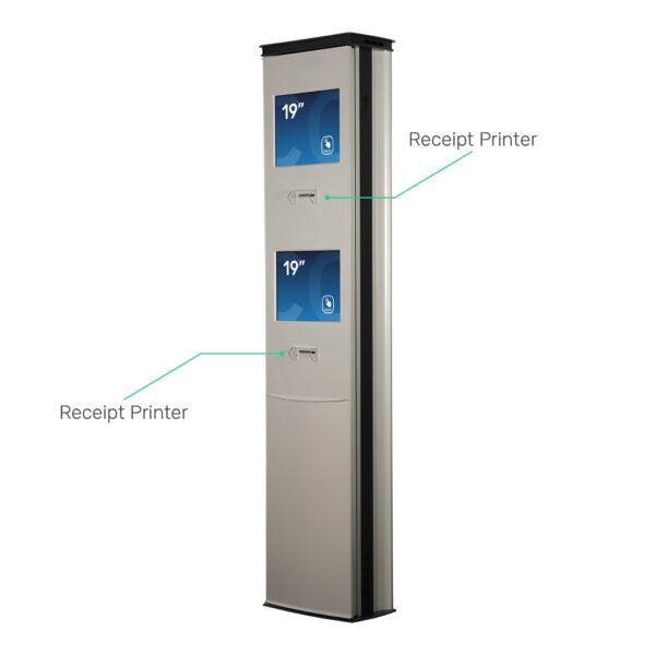 FLEXI Access Gate (Newline) Dual Screen Dual Printers