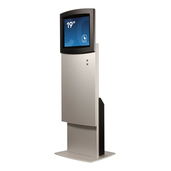 Height-adjustable kiosk FLEXI Adjust by Conceptkiosk