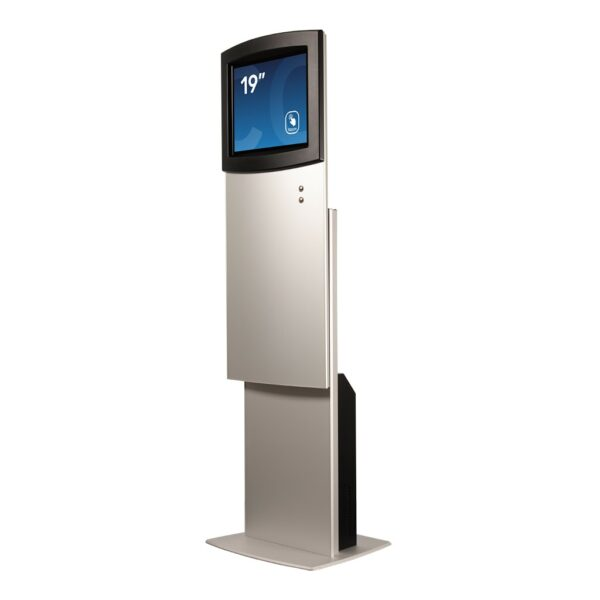 High setting for height-adjustable kiosk FLEXI Adjust by Conceptkiosk