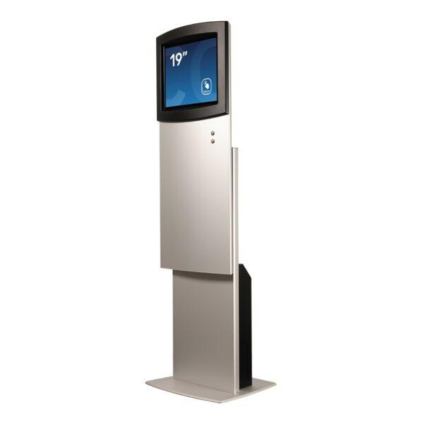 High setting for height-adjustable kiosk FLEXI Adjust by Conceptkiosk