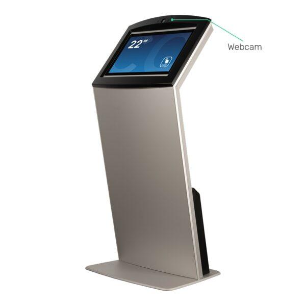 Touch Screen Kiosk with Webcam FLEXI Tilt