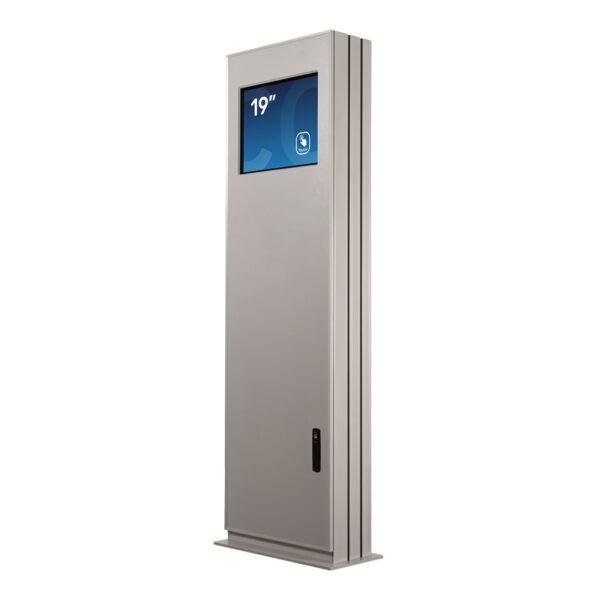 Touchscreen Kiosk FLEXI Outdoor Newline - Base Model by Conceptkiosk.