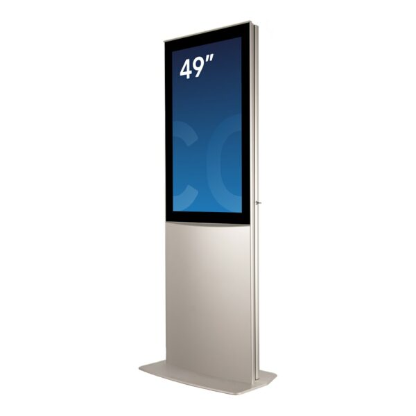 Indoor digital signage unit DURA Mega by Conceptkiosk