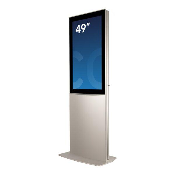 Indoor digital signage unit DURA Mega by Conceptkiosk