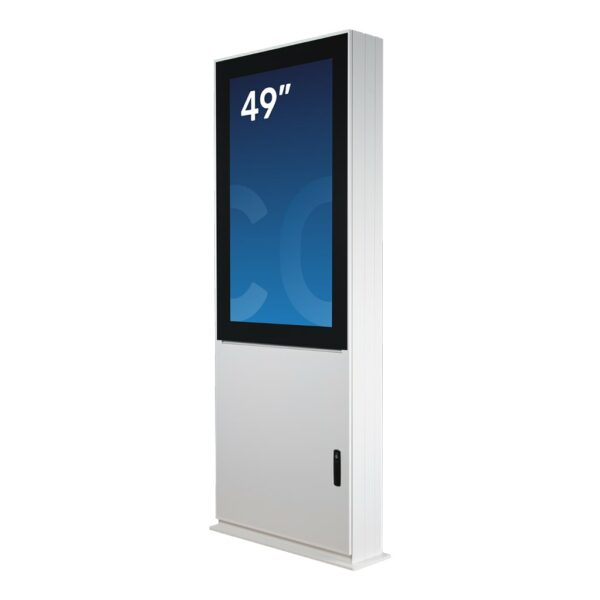 Outdoor digital signage unit DURA Outdoor by Conceptkiosk