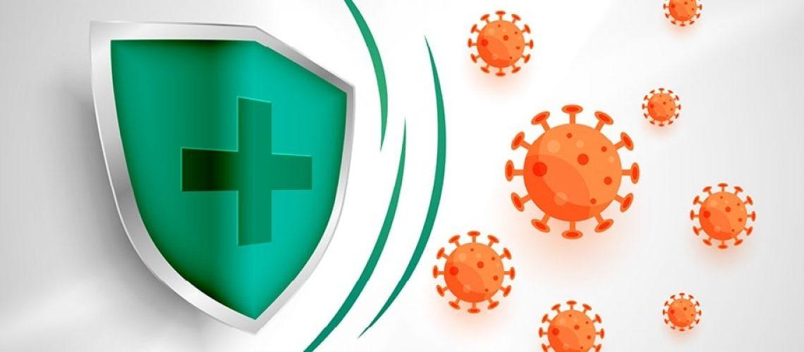 Green shield shielding for bacteria